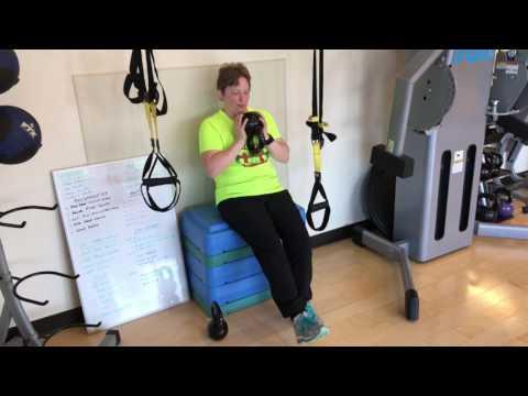 Urbana Illinois Personal Training - Training Theresa at Kinex Fitness Studio