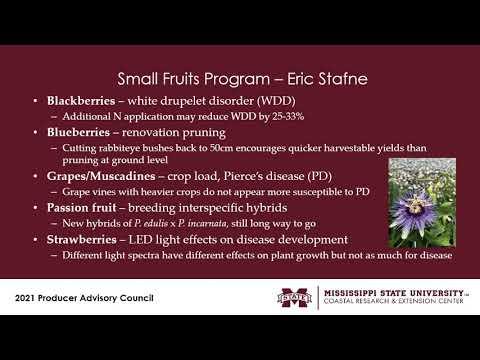 Horticulture (Ornamental, Home, Fruits & Vegetables) 2021 CREC PAC Hort Group
