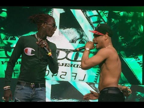 TI & Young Thug Kill It @ V103 Live
