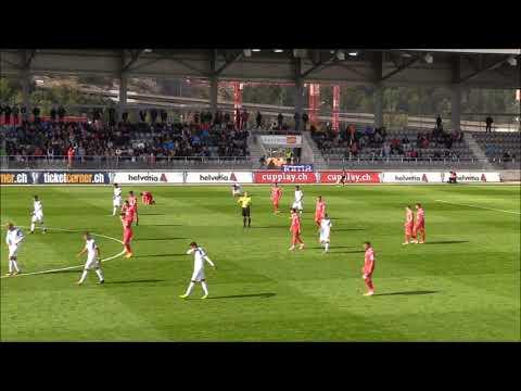FC Bienne vs Grasshoper Club Zurich Coupe Suisse 2017. Coulisses et temps forts
