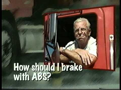 What a Truck Driver Should Know About  Antilock Brake Systems