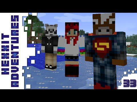 Minecraft - Hexxit - Ur-Ghast - 33. rész - w/ Zsömi, Ádám