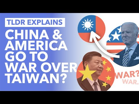 Will China & America go to War over Taiwan? Tensions Escalate Between the Superpowers - TLDR News
