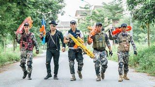 LTT Game Nerf War : Captain Warriors SEAL X Nerf Guns Fight Inhuman Group Idiot