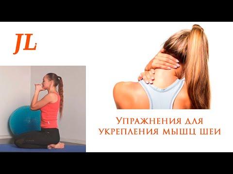 Упражнения для укрепления мышц шеи видео уроки
