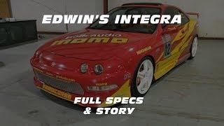 EDWIN'S INTEGRA: Specs & Story