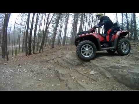 ATV Video Review: 2012 Polaris Sportsman Touring 850 H.O.