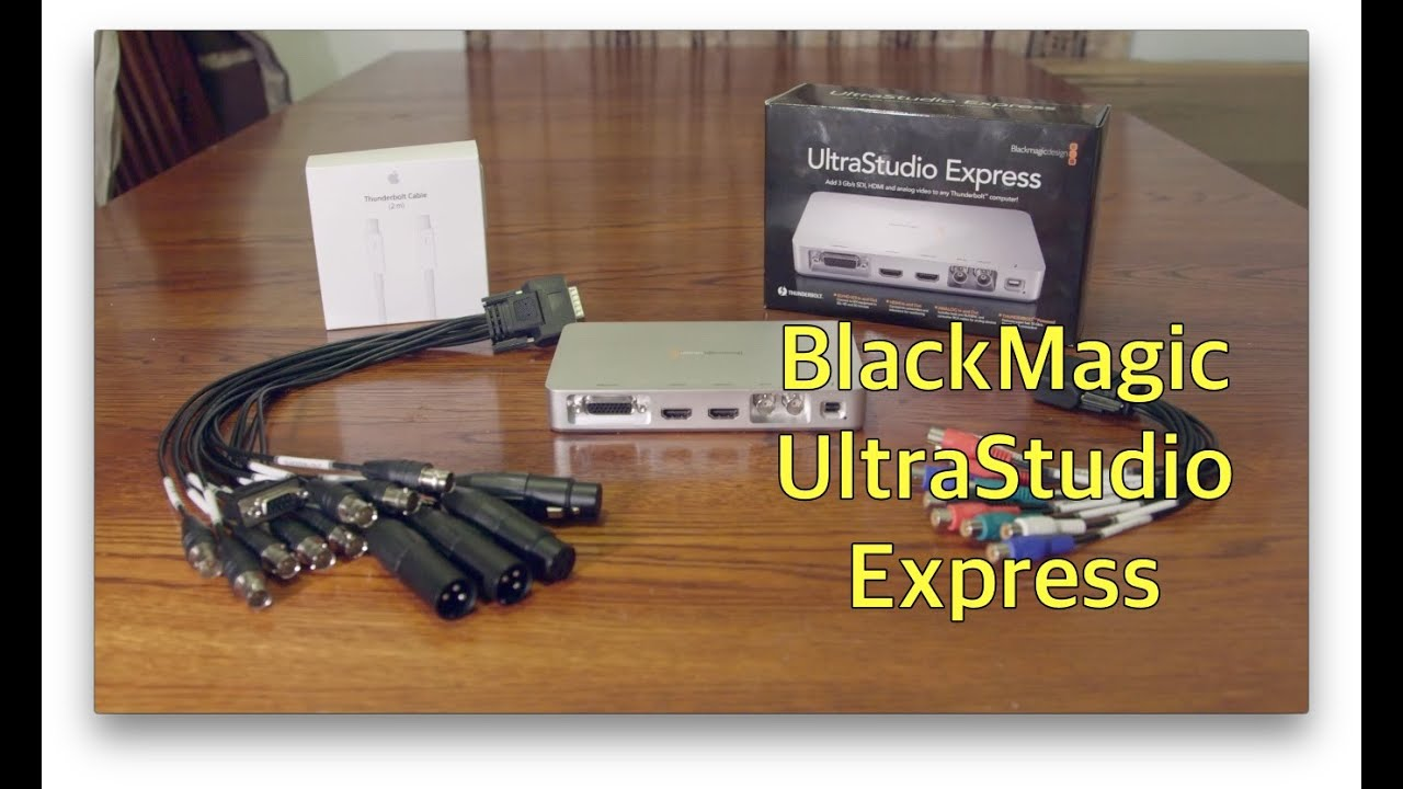 Blackmagic Ultrastudio Express Youtube