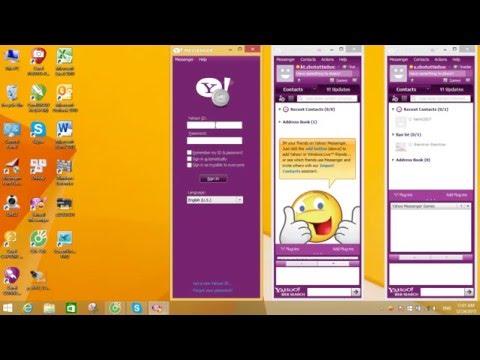 Đăng Nhập Cùng Lúc Nhiều Tài Khoản-Nick Chat Trên Yahoo Messenger