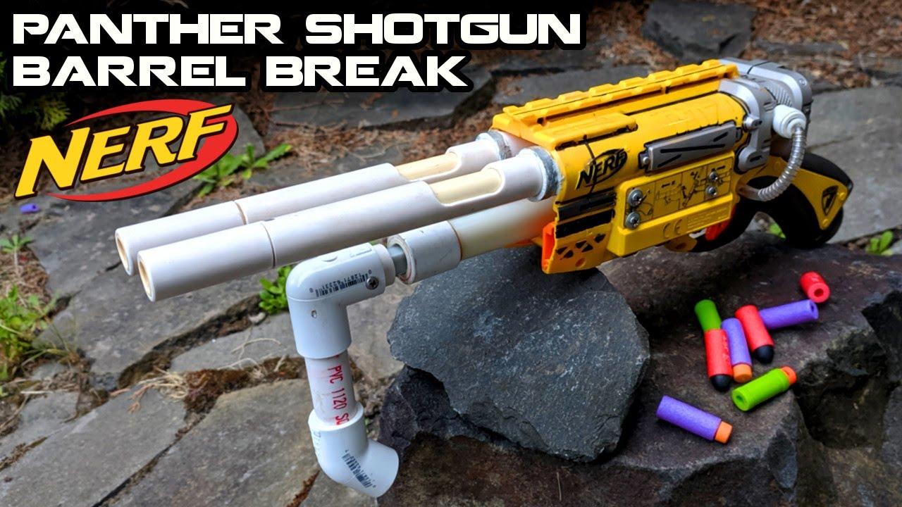 The LEGENDARY NERF Panther Barrel Break IX-2 Mod