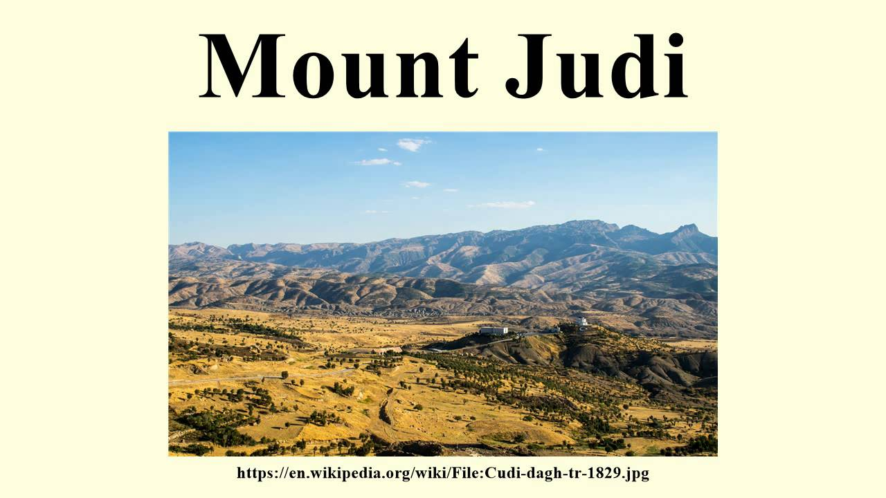 Image result for mount judi noah ark