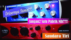 Unboxing Soundcard A-Pro Audio Audiobox USB - Saudara Tiri Presonus Audiobox