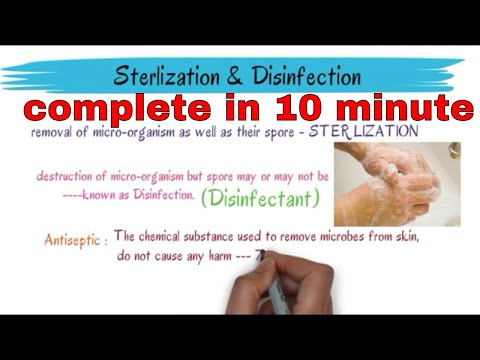 All About Sterilization And Disinfection || Different Method Of Sterilization |make Your Notes