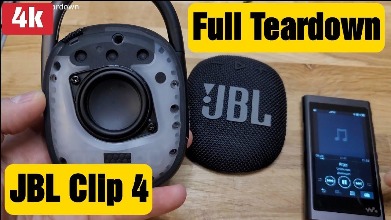 Download JBL Clip 4 Full Teardown