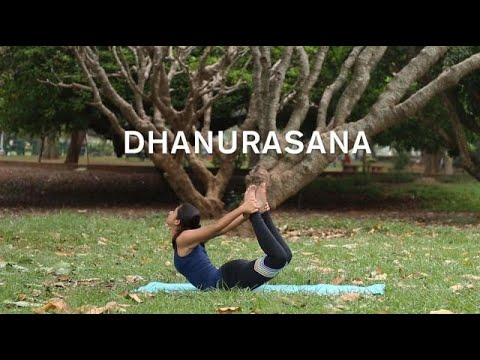 how to do dhanurasana  bow pose  youtube
