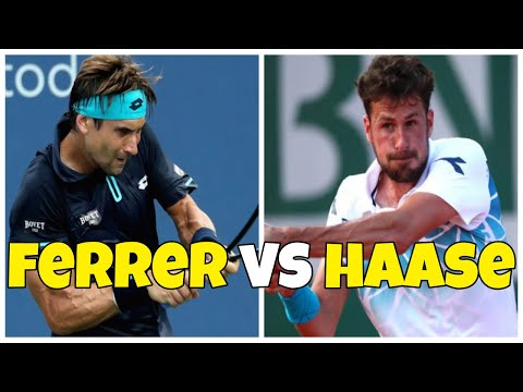 David Ferrer vs Robin Haase | 1R Auckland 2019 Highlights HD