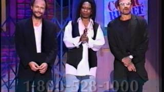 Billy Crystal, Whoopi Goldberg, Robin Williams Intro - Comic Relief Vi