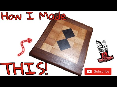 Making a Cuttingboard for a friend of mine! #DIY #Howto #Woodworking
