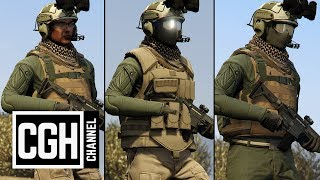GTA 5 Online - Best Military Outfits Ep.1