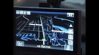 как работает автомобильный навигатор в сумерках Ночное видео