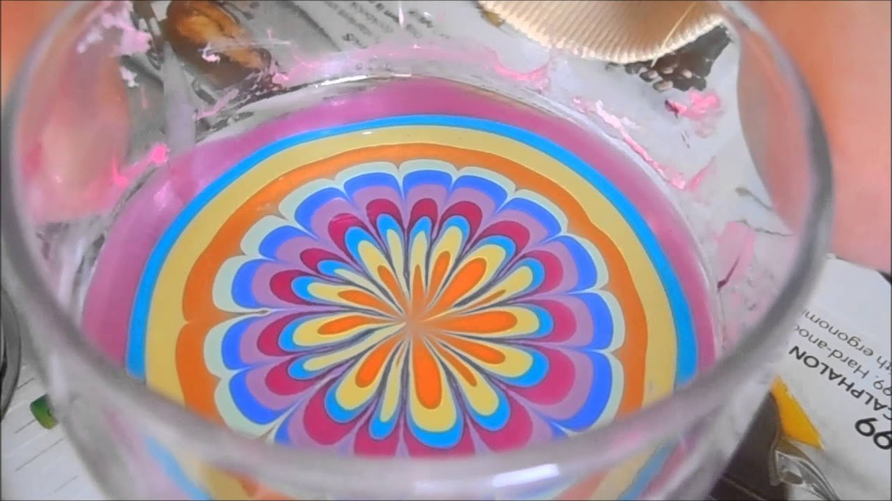 Gorgeous and easy rainbow water marble for beginners youtube prinsesfo Image collections