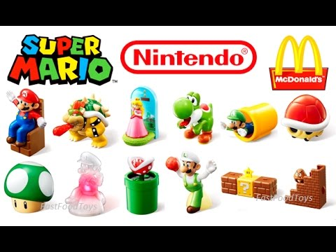 All 12 World Set 2017 Mcdonald's Super Mario Happy Meal ...