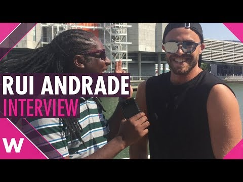 Rui Andrade interview on Eurovision 2018, his new single and more