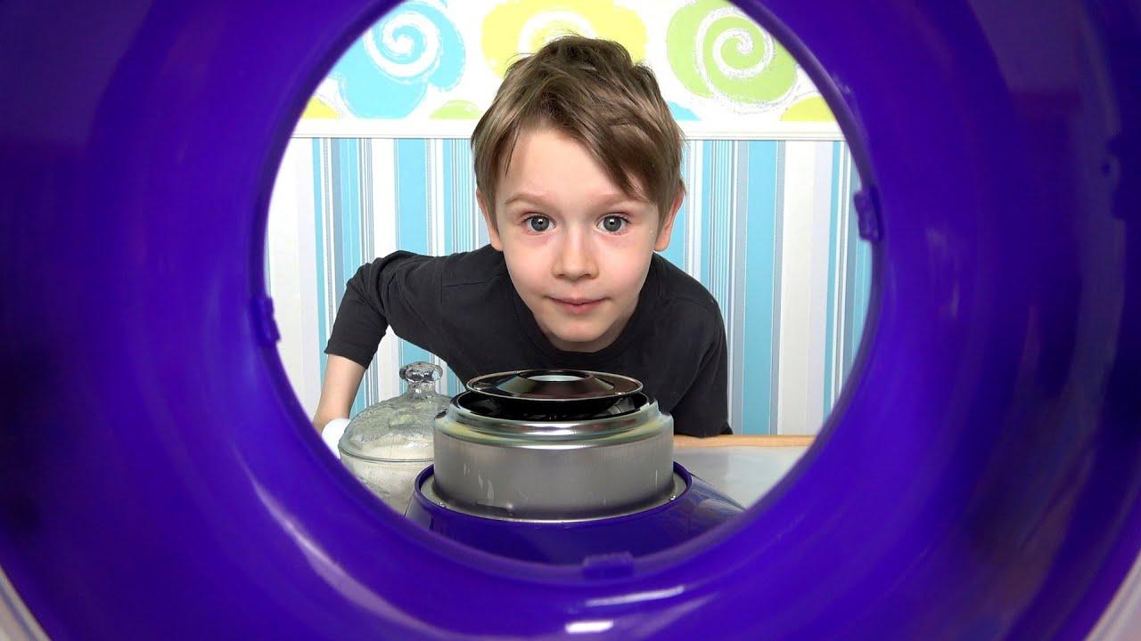 Сладости для детей - готовим сладкую вату