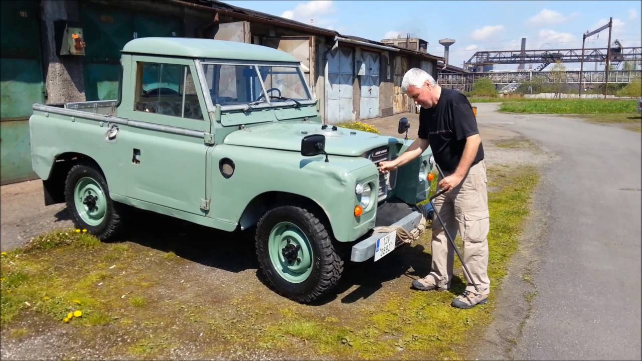 Land Rover Truck >> Land Rover Series 3 Truck Cab 2 25 Petrol 8 1 Hand Cranking Cz