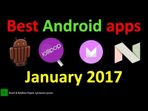 Top 10 Best Android apps January 2017