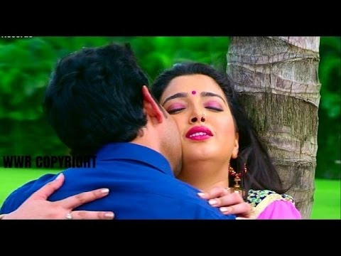 Dinesh Lal Yadav And Aamrapali Dubey Romantic Moment