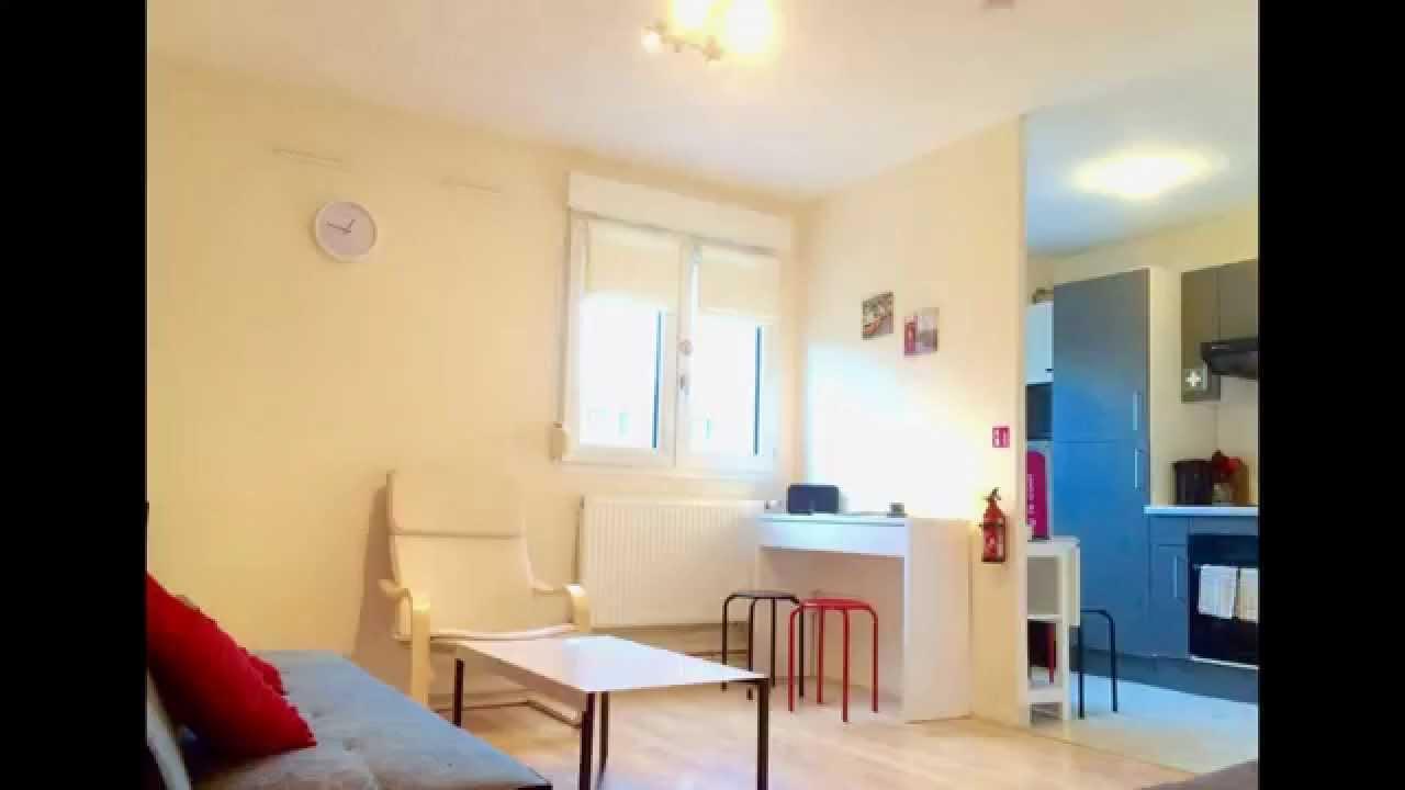 location studio meuble courte duree a besancon youtube. Black Bedroom Furniture Sets. Home Design Ideas