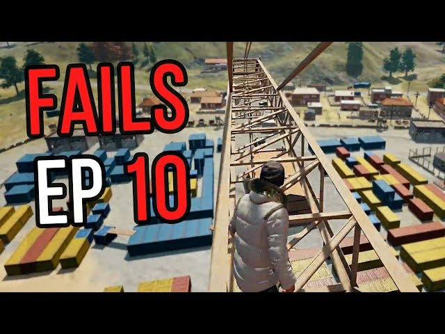 PUBG: Fails & Unlucky Moments Ep. 10