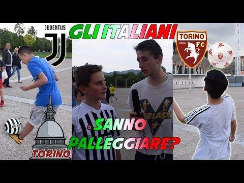 Gli ITALIANI a Torino Sanno Palleggiare un Pallone? ● Interviste Ignoranti