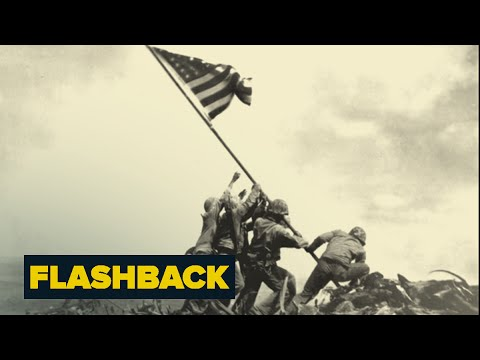 Raising The Flag At Iwo Jima: Story Behind The Photo | Flashback | NBC News