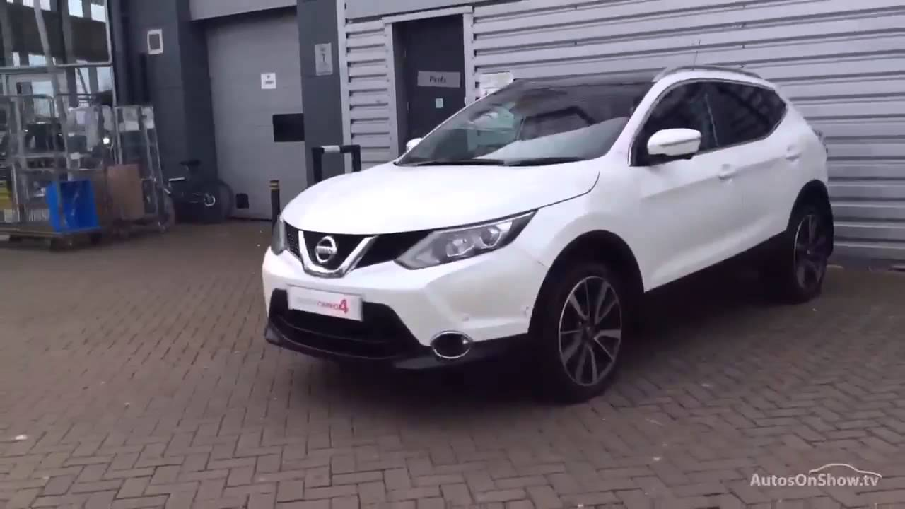 nissan qashqai dci tekna white 2014 youtube. Black Bedroom Furniture Sets. Home Design Ideas