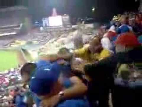 dodgers  angels game fan brawl freeway series youtube