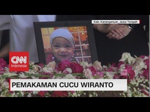 Ahmad Daniyah Alfatih, Cucu Wiranto Dimakamkan di Karanganyar