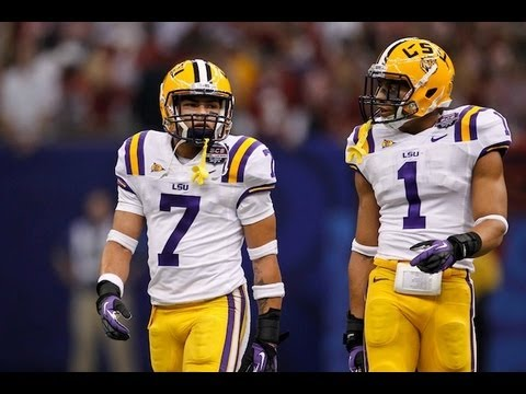 Tyrann Mathieu & Eric Reid Highlights