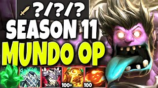 Not even 4v5 can stop our Immortal Season 11 Mundo Build 🔥 LoL Best Mundo Preseason s11 Gameplay