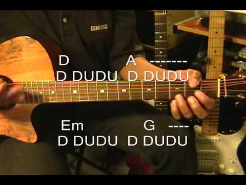 Guitar Strumming Pattern Tutorial Austin Mahone Style Acoustic ...