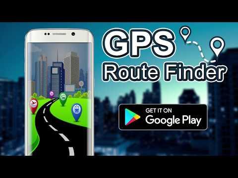 GPS Route Finder - GPS Tracker, Maps & Navigation App