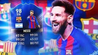 FIFA 17 - SKŁAD Z MESSIM TOTY!