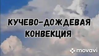 Кучево-дождевая конвекция летом 2020 года))