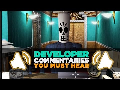In-Game Developer Commentary You Must Hear