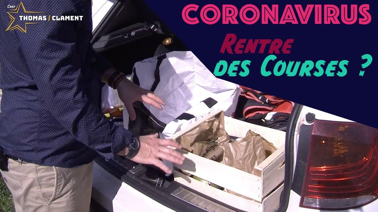 Gestes Barrières en revenant des achats / Coronavirus