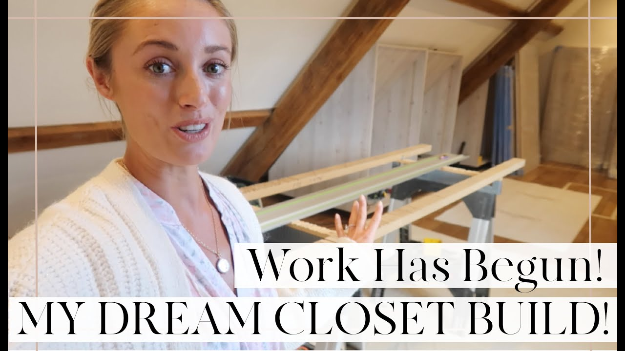 WORK HAS BEGUN ON MY DREAM CLOSET! & Summer Dress Try On // Fashion Mumblr Vlogs