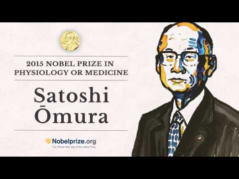 Portrait of a Nobel Laureate: Satoshi Ōmura, 2015 Nobel Prize in Physiology or Medicine