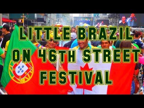 LTTLE BRAZIL ON 46th STREET FESTIVAL 2017