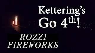 Kettering's Go 4th Fireworks 2018